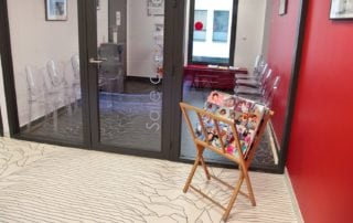 Salle d'attente centre amp st roch Montpellier
